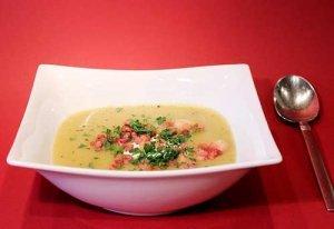 Kochen mit dem Schnellkochtopf: Kartoffelsuppe mit Speck