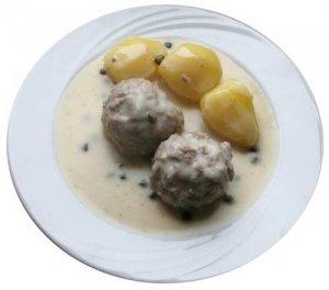 Kochen mit einer Küchenmaschine mit Kochfunktion: Königsberger Klopse