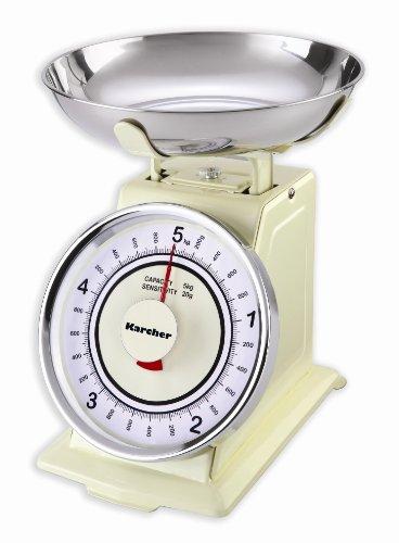 Karcher 130130 WAK 811 Mechanische Retro Küchenwaage
