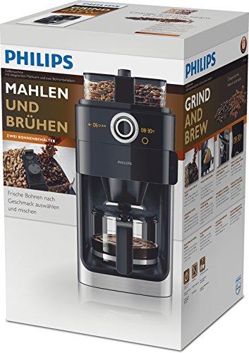 Philips HD7766/00 Grind&Brew Filter-Kaffeemaschine mit Mahlwerk - 7