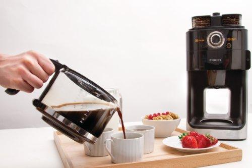 Philips HD7766/00 Grind&Brew Filter-Kaffeemaschine mit Mahlwerk - 9