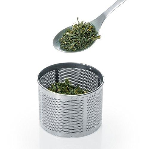 Severin WK 3471 Glas-Tee Wasserkocher, Glas edelstahl gebürstet - 10