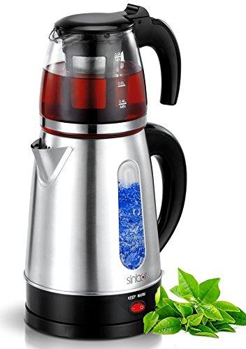Elektrische Teemaschine Wasserkocher Teeautomat Caydanlik 2.200 Watt