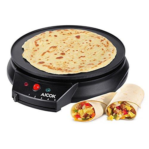 Aicok Crepesmaker Eletronische Pfannkuchen Maschine