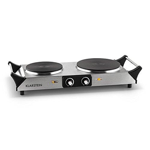 Klarstein Cookorama - Doppel-Kochplatte - Elektro-Herdplatte