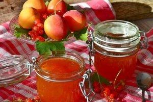 Marmeladenglas mit Bügelverschluss