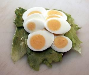 hartgekochtes Ei