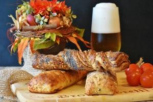 Brot selber backen - Brot und Bier